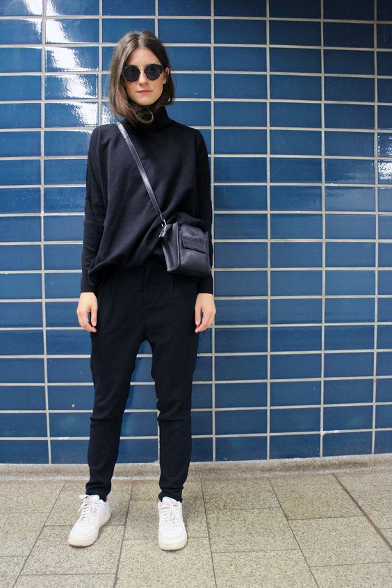 25 All Black Outfits For Women, Black