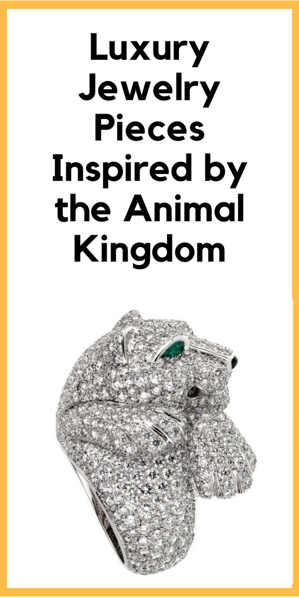 Animal Inspired Luxury Jewellery. #luxury #jewellery #accessories #womens #fashion #style