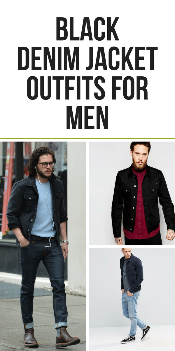 Black Denim Jacket Outfits For Men Lifestyle By Ps