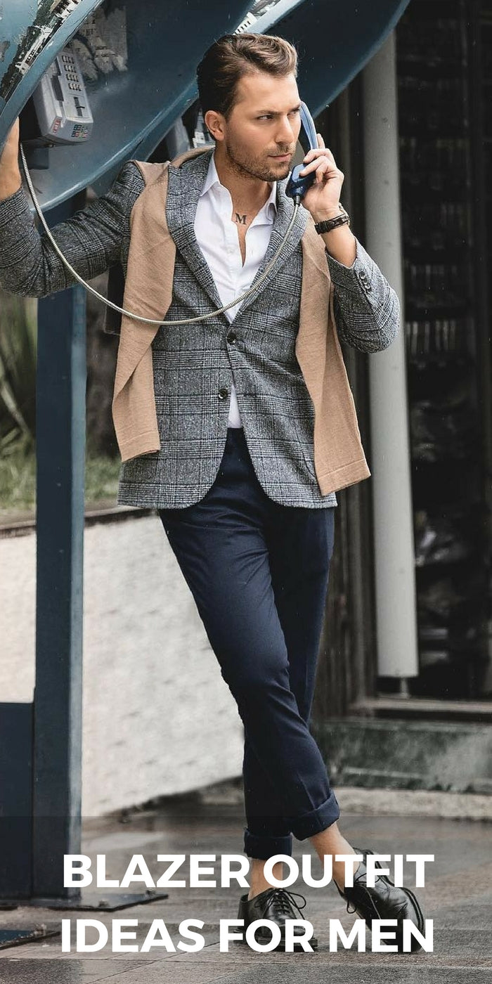 9 Edgy Ways To Wear Blazer Jacket For Men Lifestyle By Ps