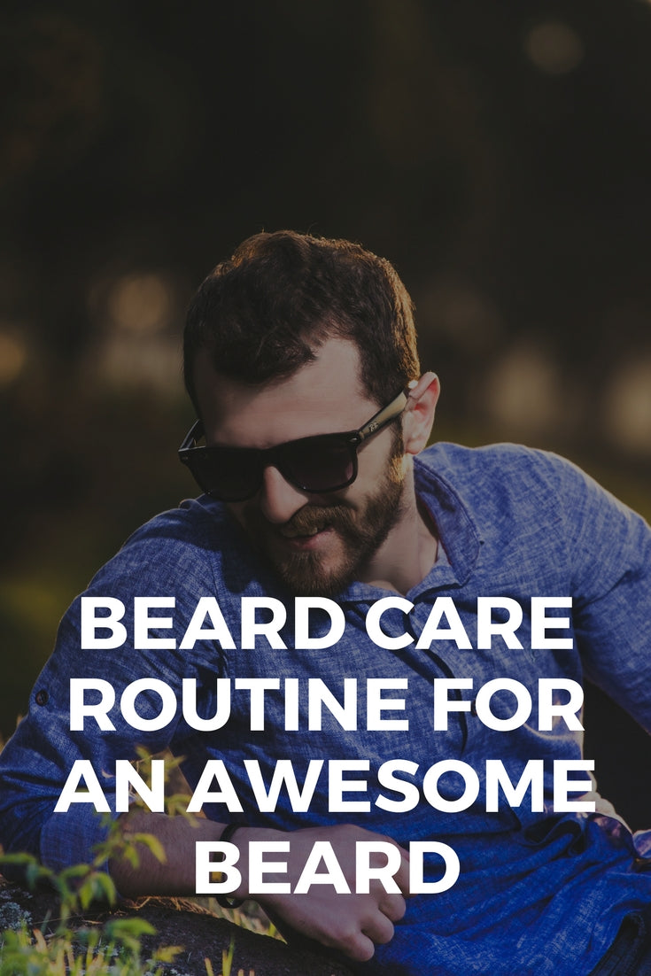 Beard Care Routine For Your Next Getaway
