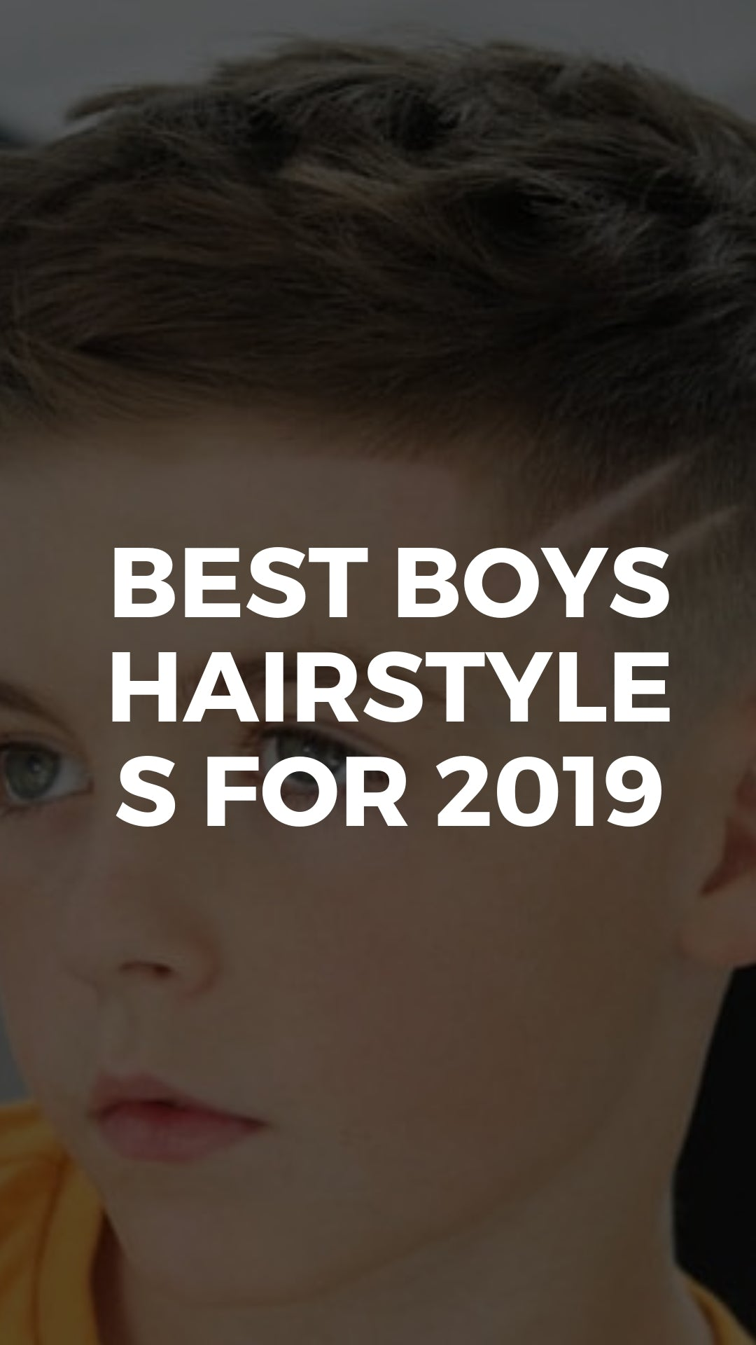 5 Cool Haircuts For Boys Best Boys Hairstyles For 2019 Lifestyle