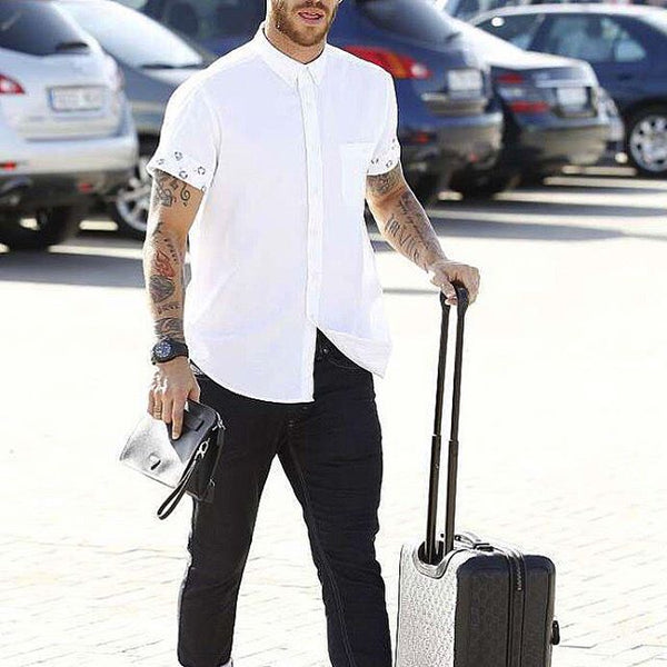 Black & White Outfit For Men Street Style Inspiration