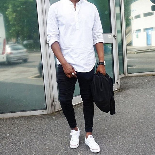 Black White Outfit Ideas For Men Lifestyle By Ps