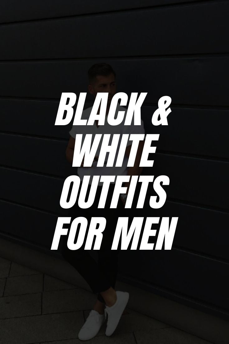 How To Wear Black and White Outfit On The Street (10 Ideas)