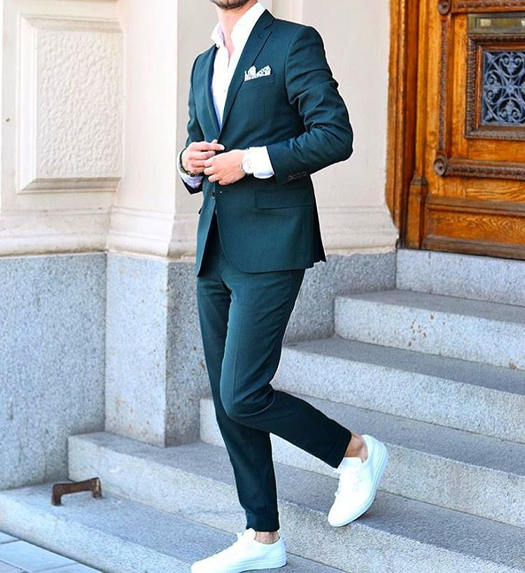 How To Dress Up Your Sneakers & Look Polished
