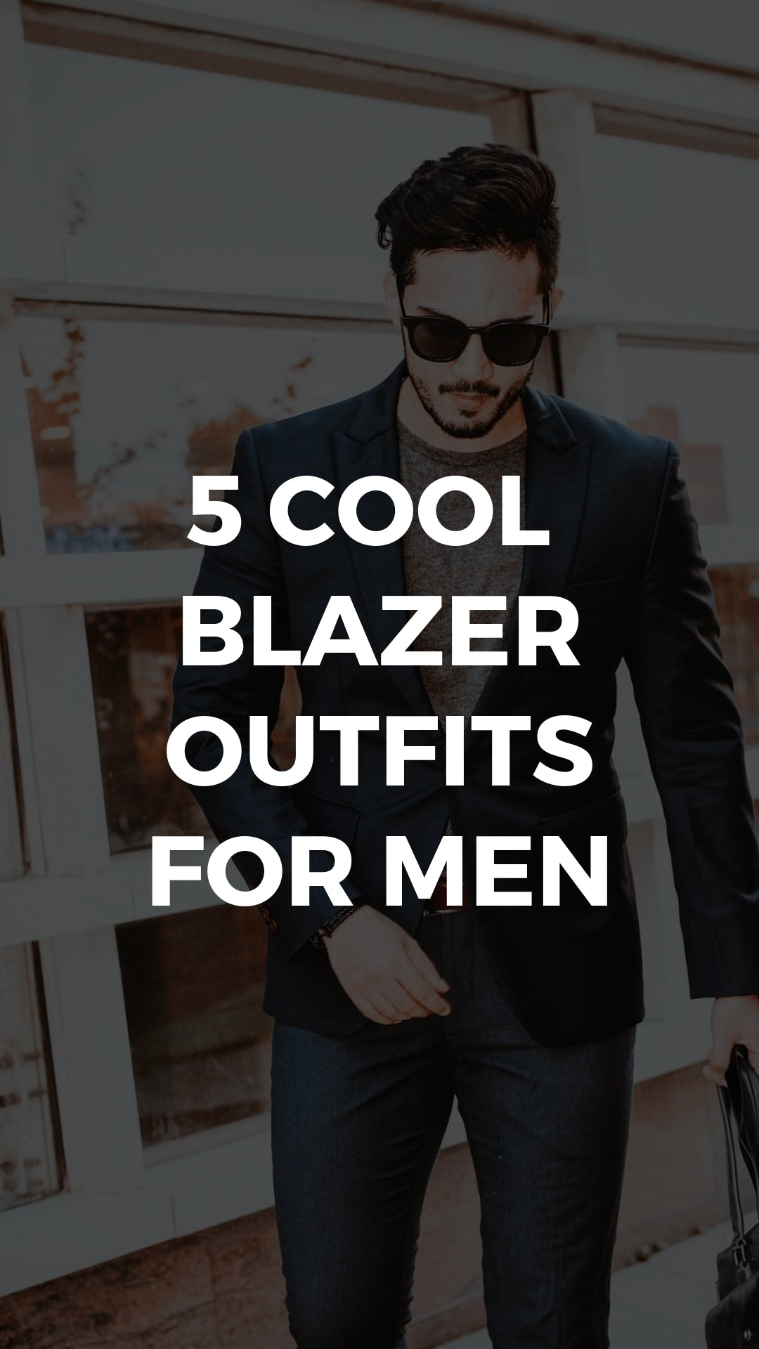 The Cool Blazer Outfits I'm Copying #blazer #outfits #mensfashion #streetstyle