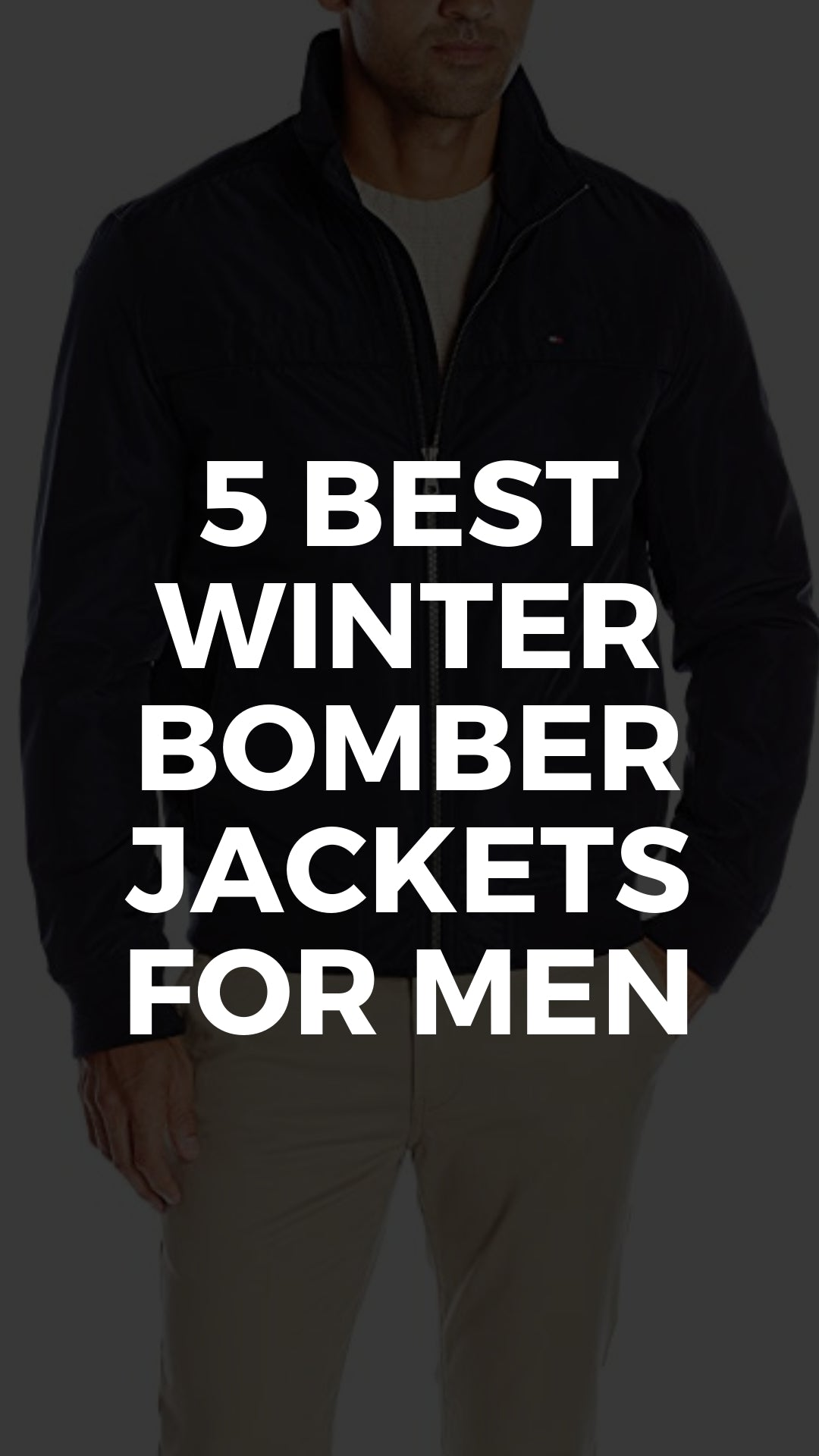 5 Cool Bomber Jackets To Add To Your Winter Wardrobe #bomber #jackets #mens #fashion