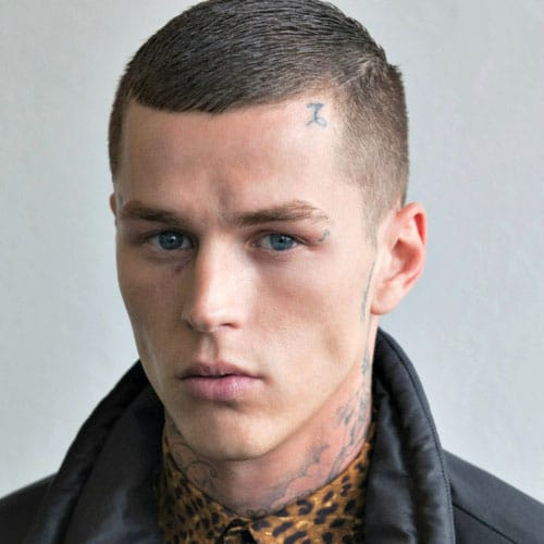 Buzz Cut + Fade #mens #hairstyles #haircuts