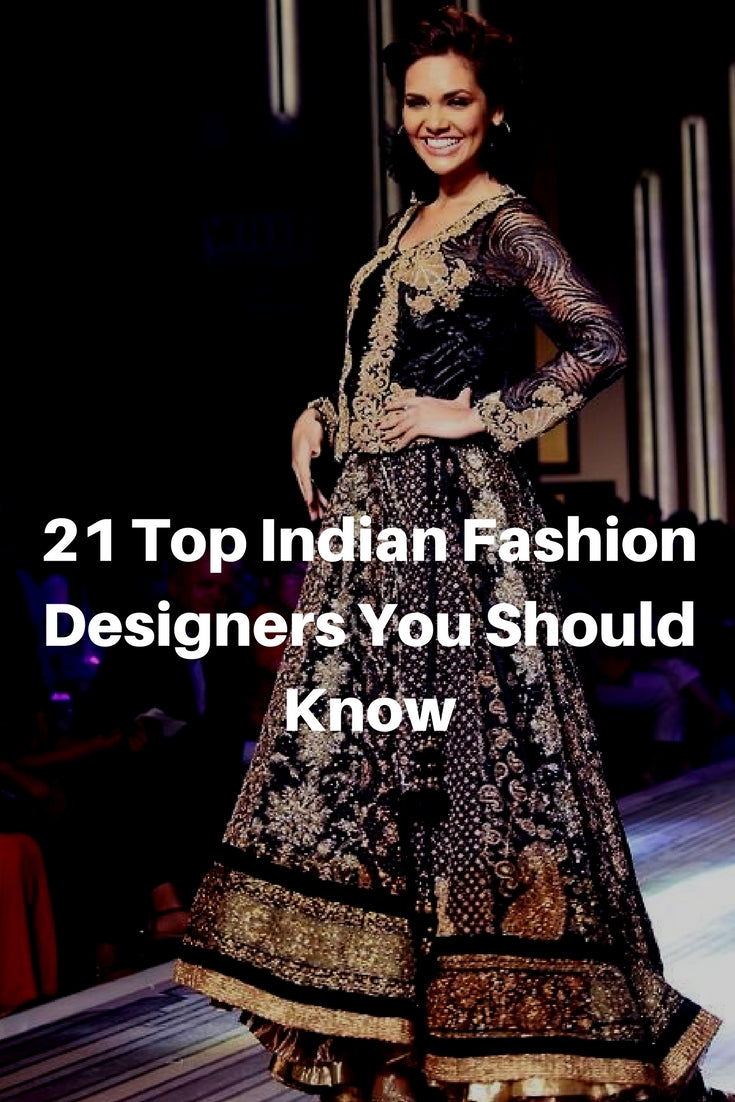 21 Top Indian Fashion Designers You Should Know  43d385a230245