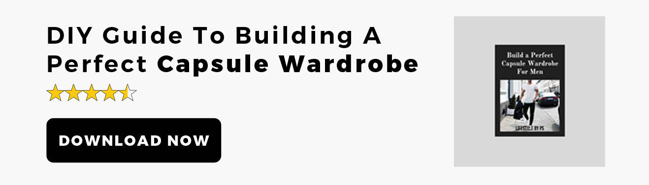 Capsule Wardrobe eBook for men