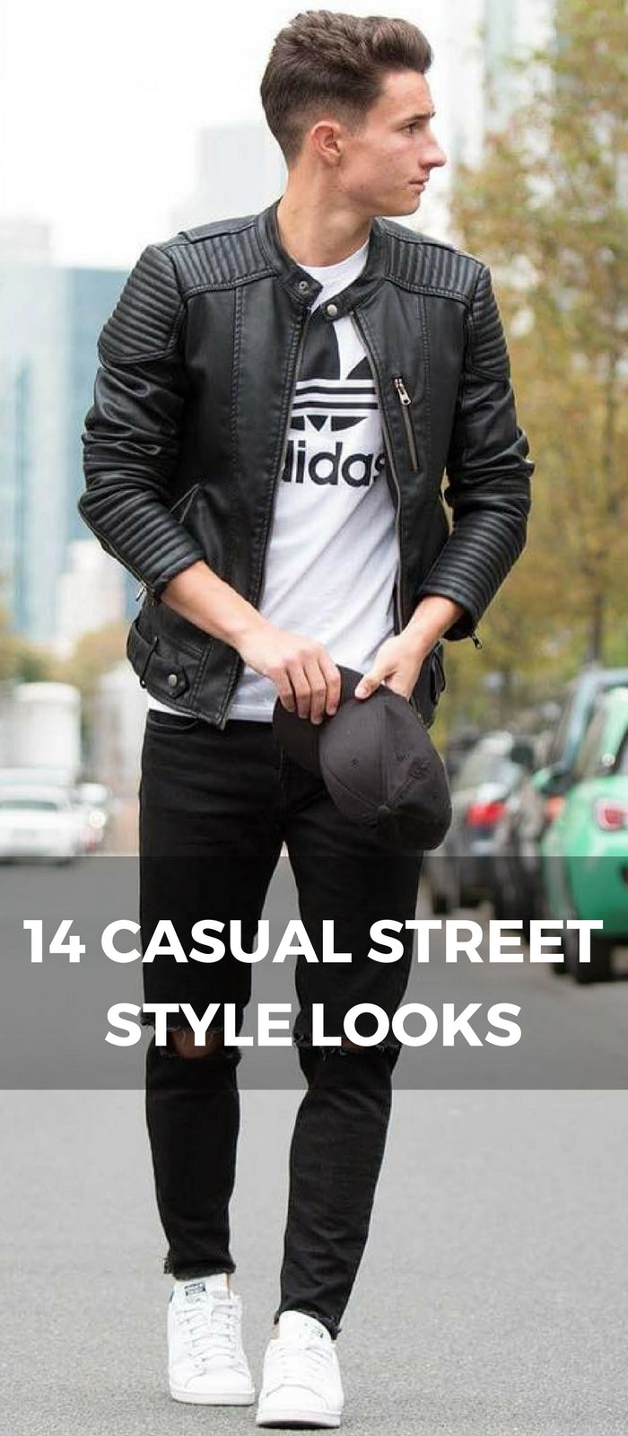 casual street style looks for men