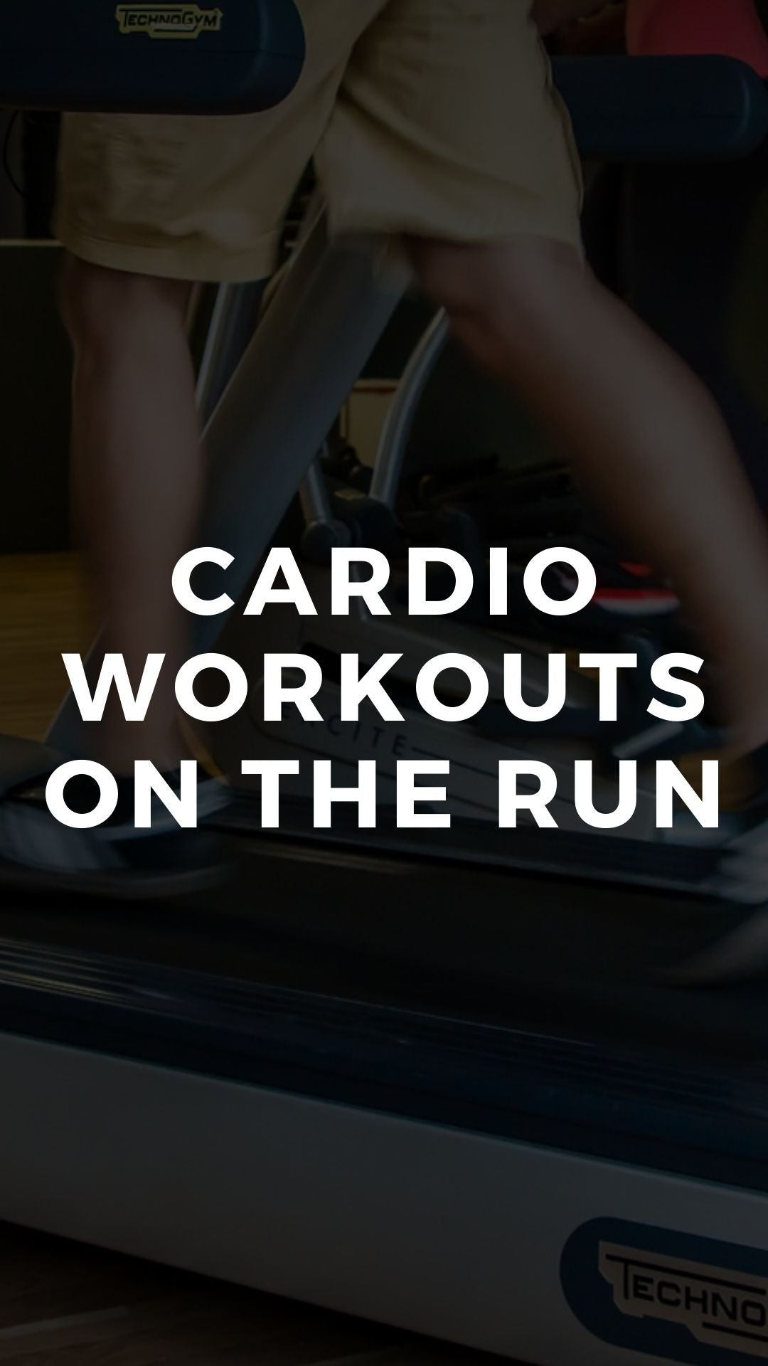 Cardio Workouts On the Run