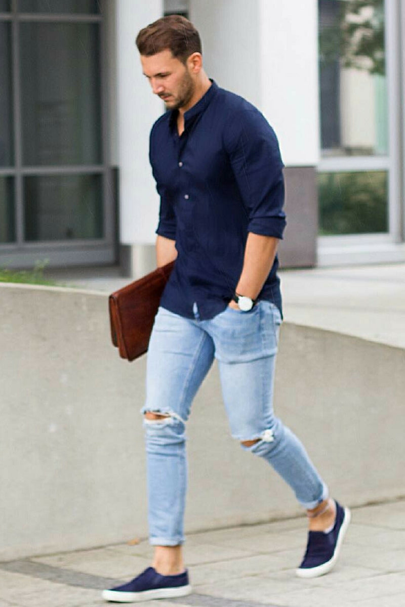 How to wear casual shirt for men casual street style men for In style mens shirts