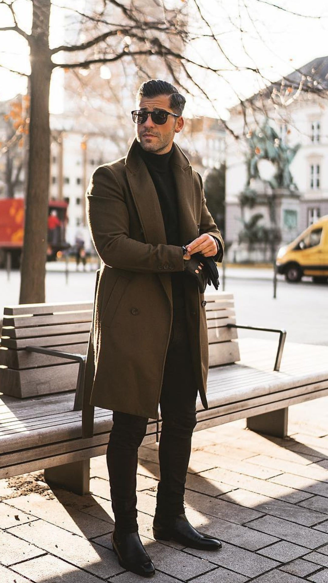 Want To Dress Sharp? Copy This Guy. #mensfashion #casual #outfits #streetstyle #kostawilliams