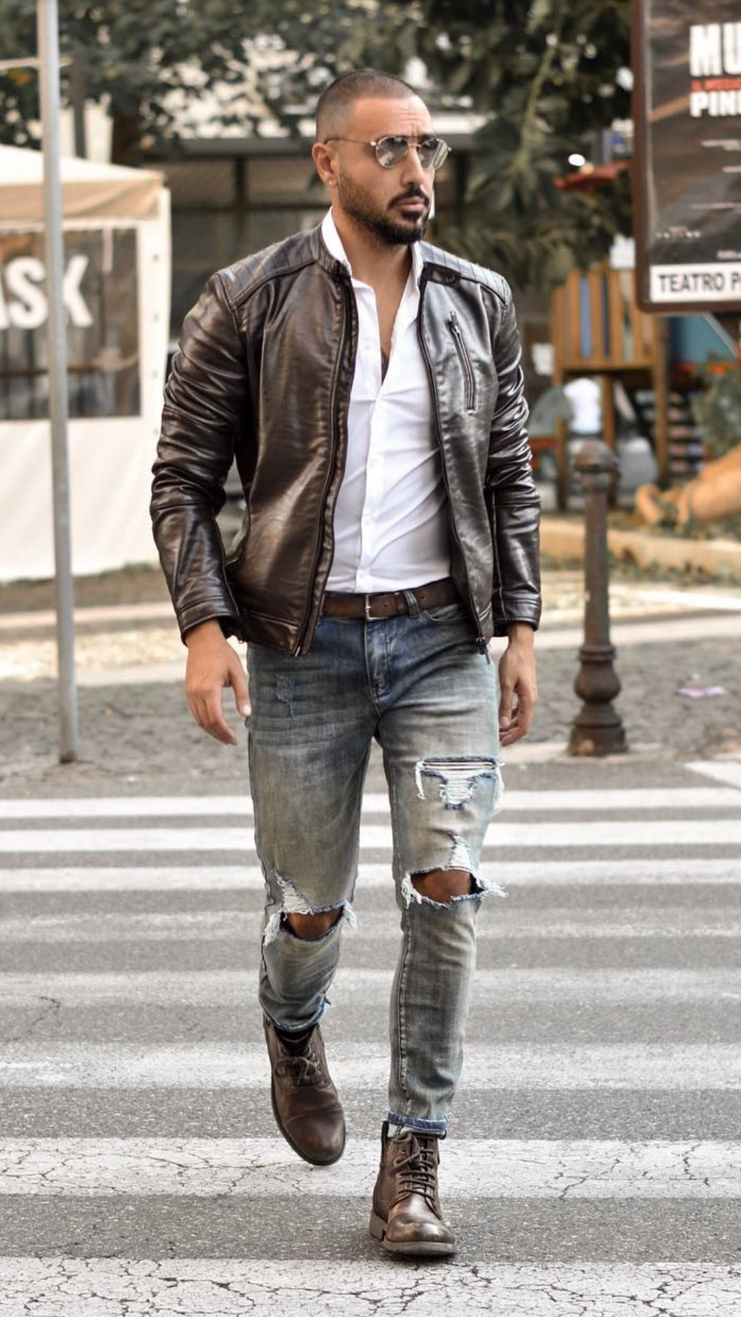 Cool winter jacket outfits for men. #mens #fashion #street #style