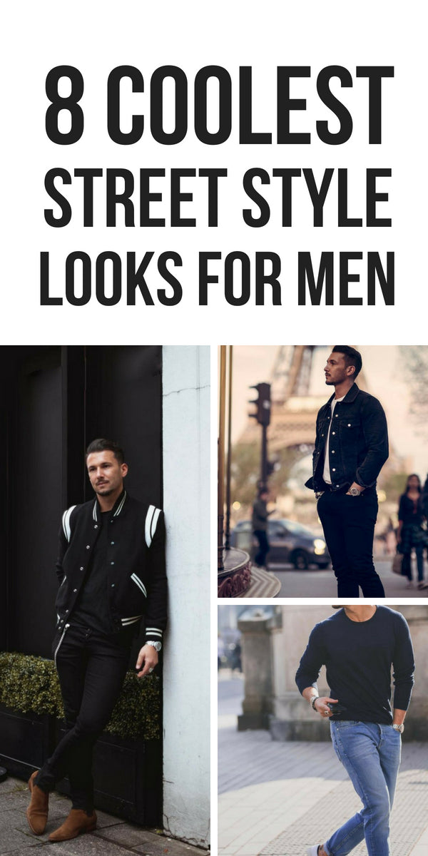 Cool street style looks for men. #street #style #mens #fashion