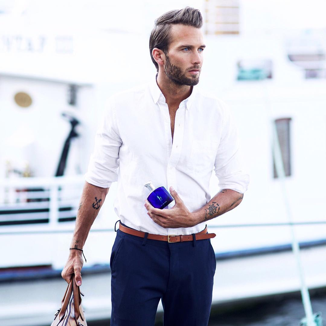 7 easy outfit formulas to impress your date lifestyle by ps for White shirt outfit mens