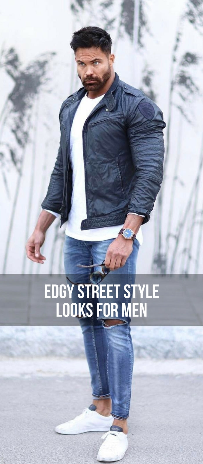 Edgy street style looks for men