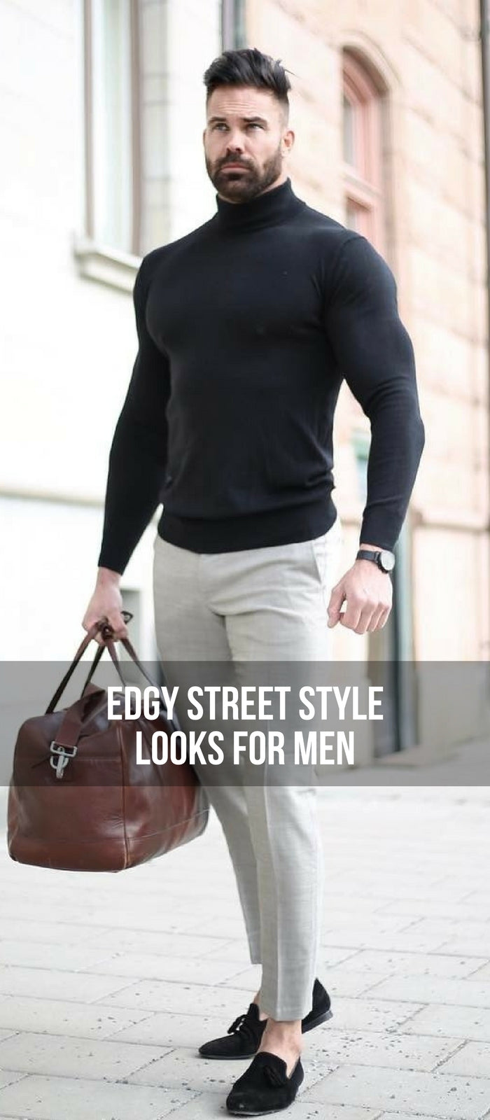 16 edgy street style looks to help you dress sharp
