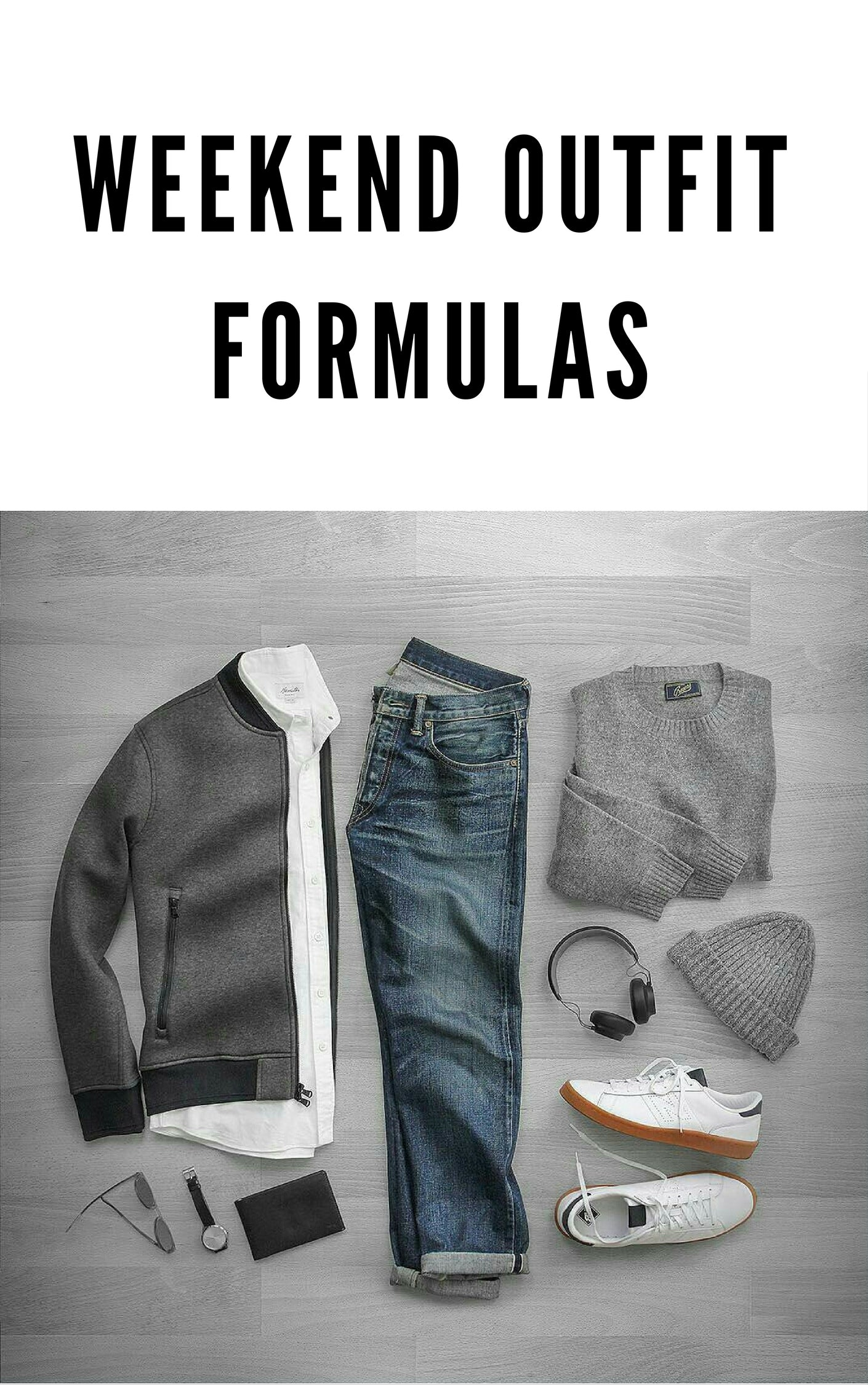 WEEKEND OUTFIT FORMULAS