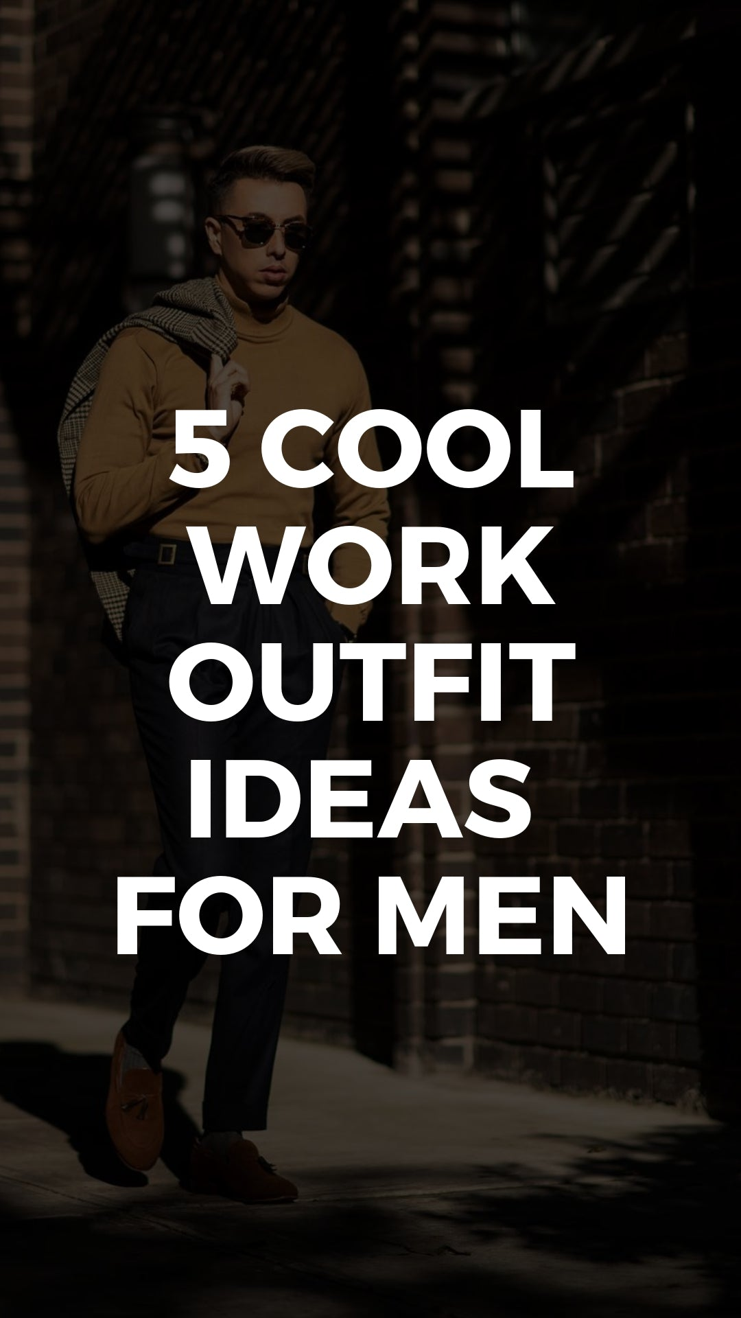 This Is Where I Go For Truly Edgy Work Outfit Ideas #workwear #businesscasual #outfits #mensfashion #streetstyle