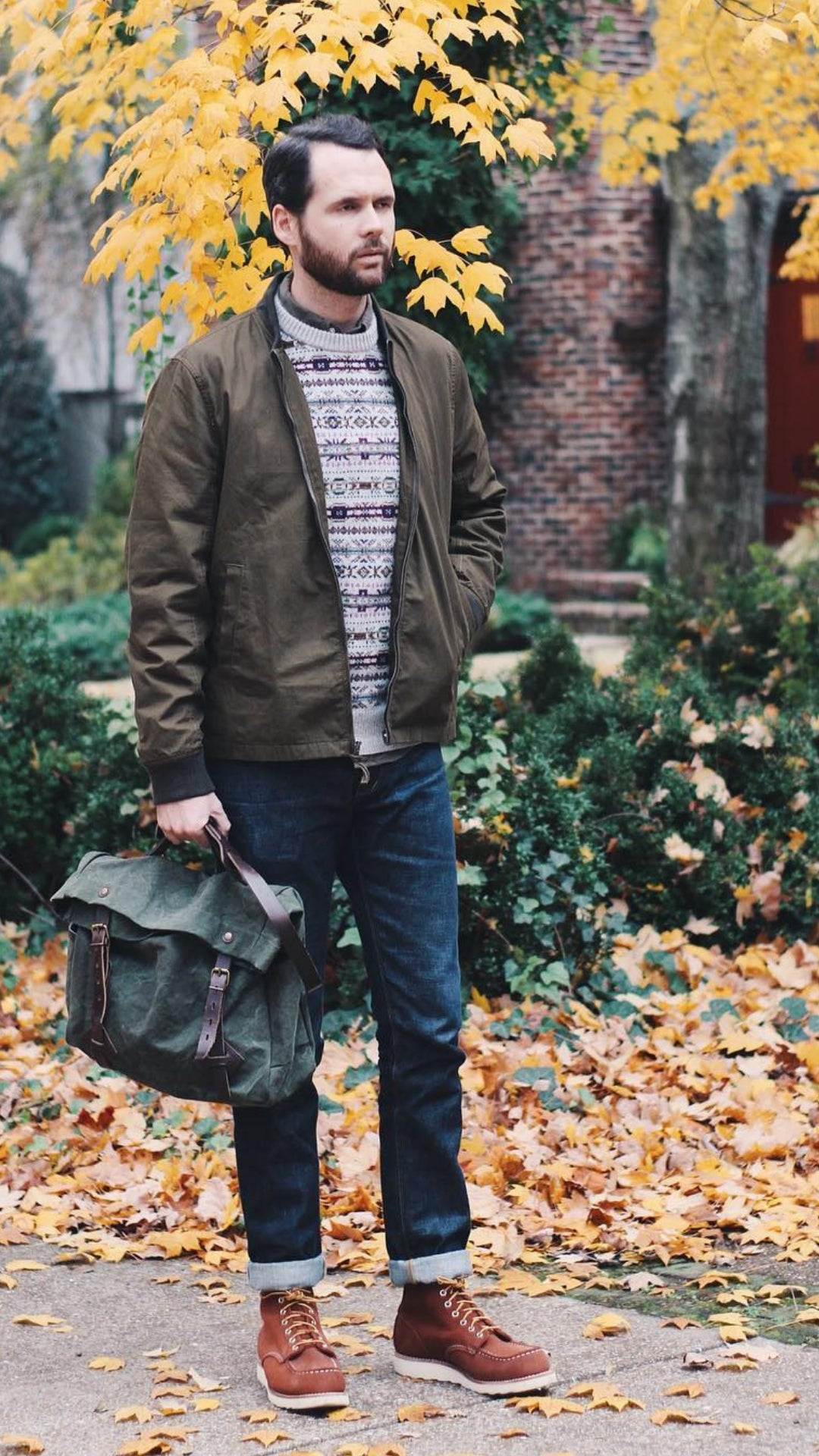 5 Everyday Fall Outfits For Guys #falloutfits #fallfashion #mensfashion #streetstyle