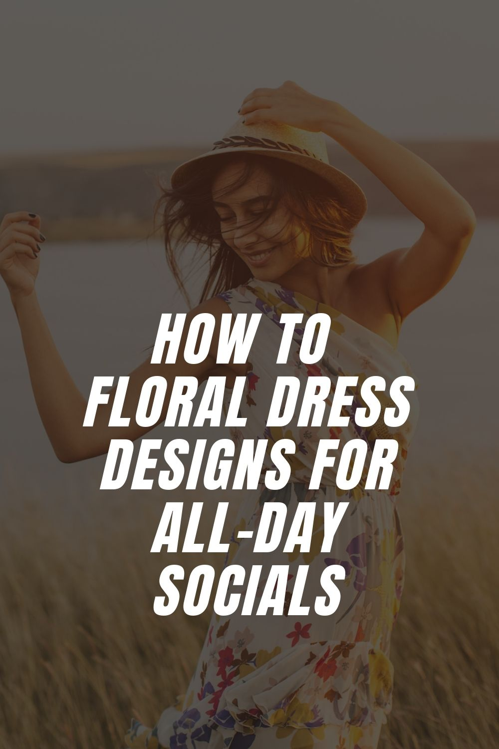 Floral Dress Designs For All-Day Socials