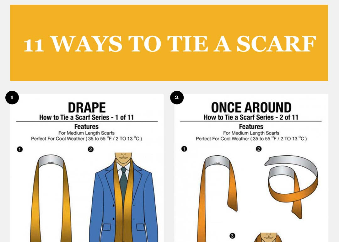 hOW TIE A SCARF
