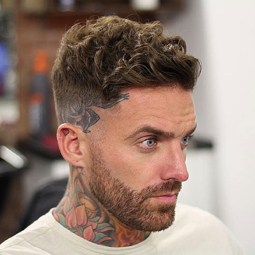 High Razor Fade With Curly Hair. Best Menu0027s Hairstyles ...