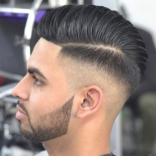 High Skin Fade + Hard Part Comb Over #mens #hairstyle #haircuts