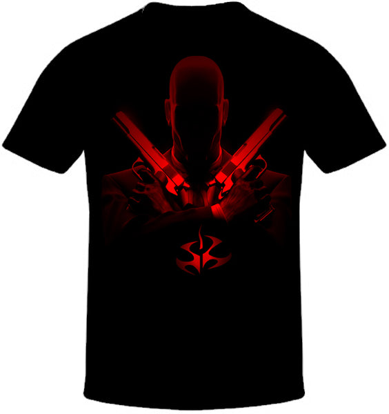 Hitman Guns Print T-Shirt