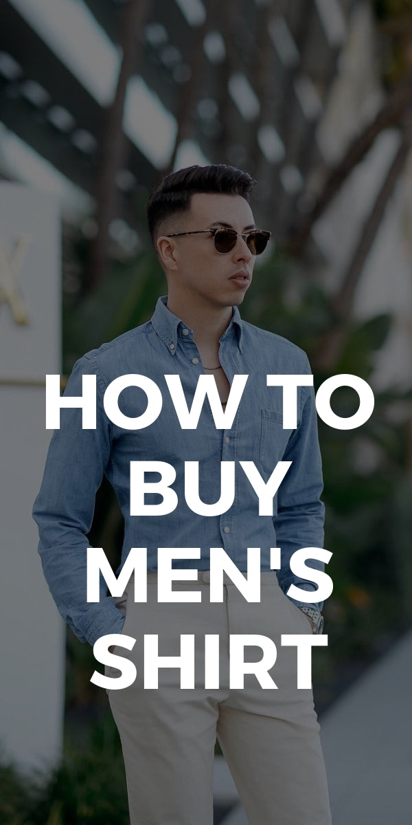How To Pick The Right Men's Shirt #shirts #fashiontips #mens #fashion #styleguide #shirtguide