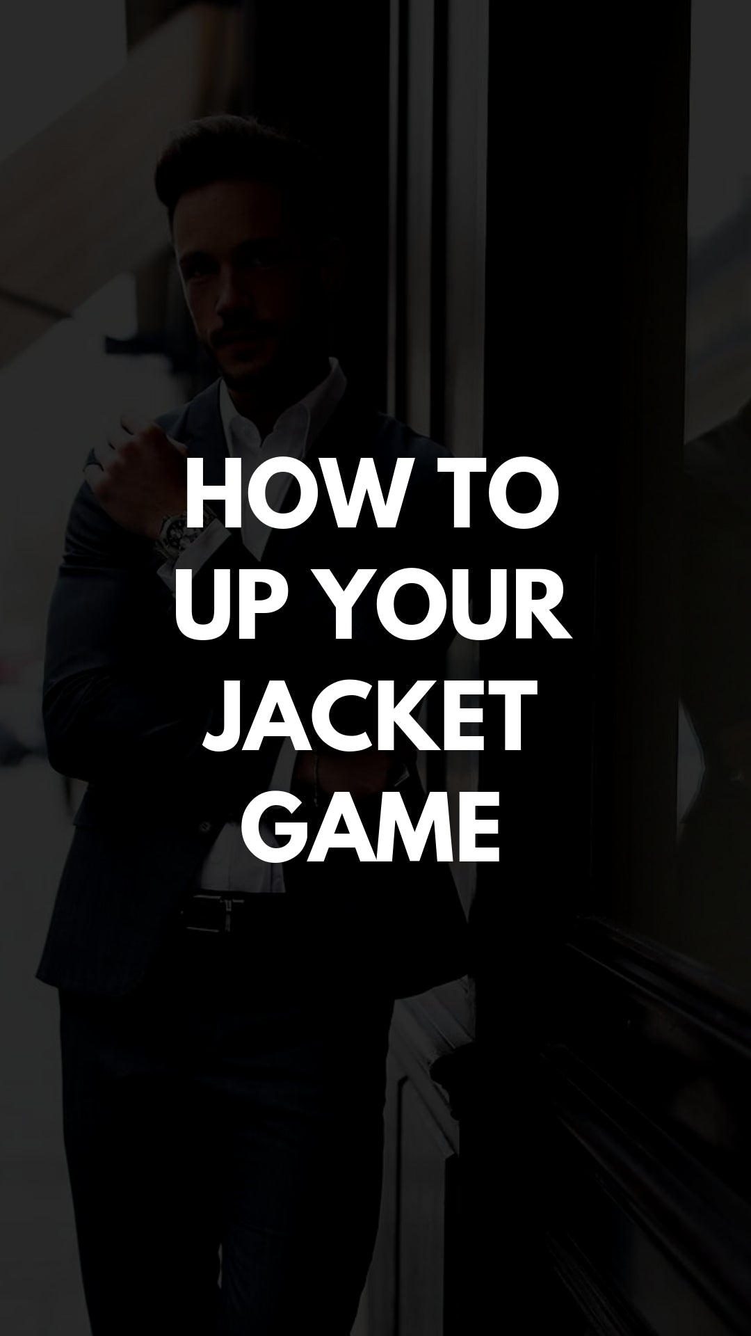 How To Up Your Jacket Game #jacket #mensfashion