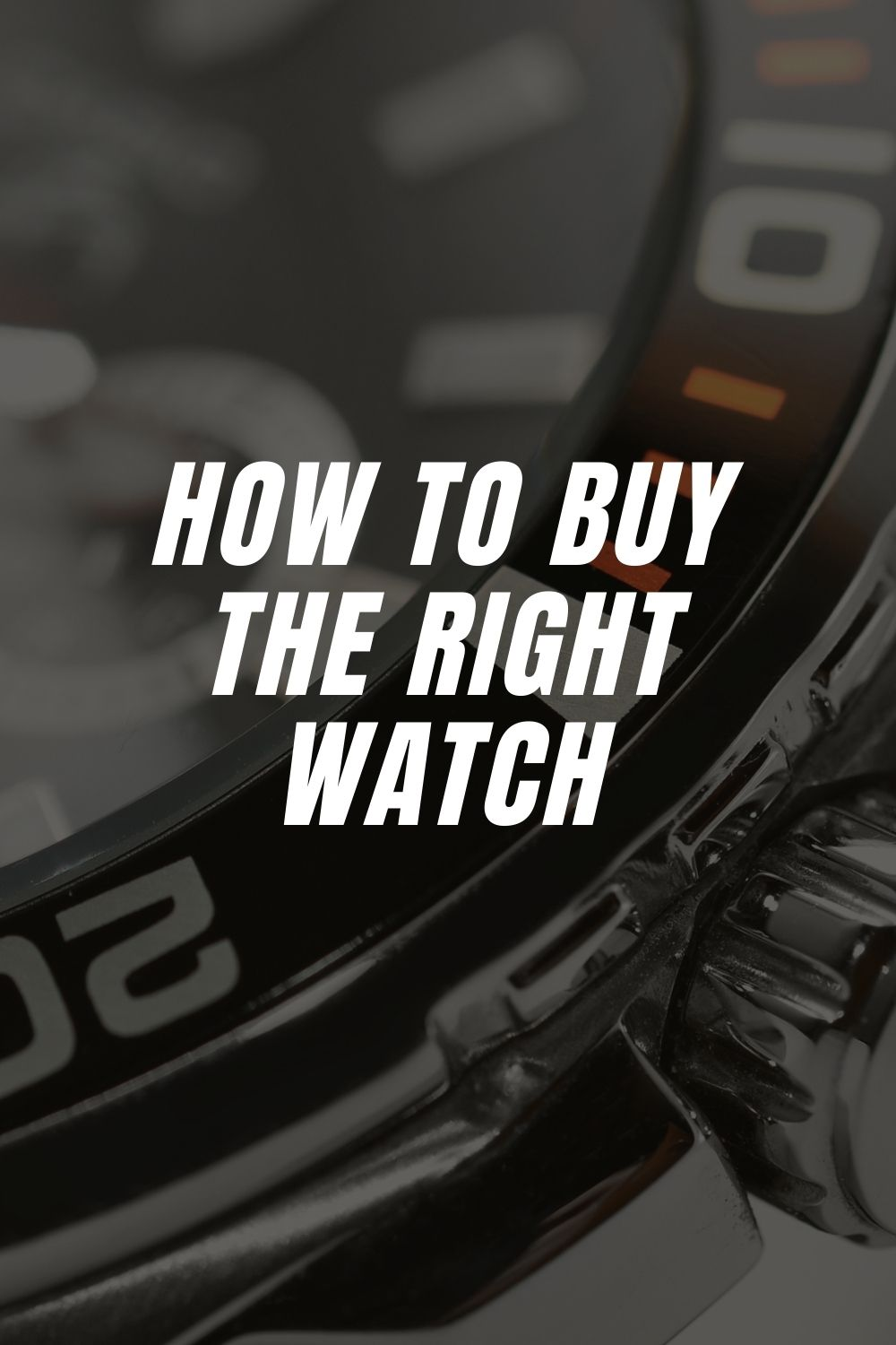 How to Buy the Right Watch