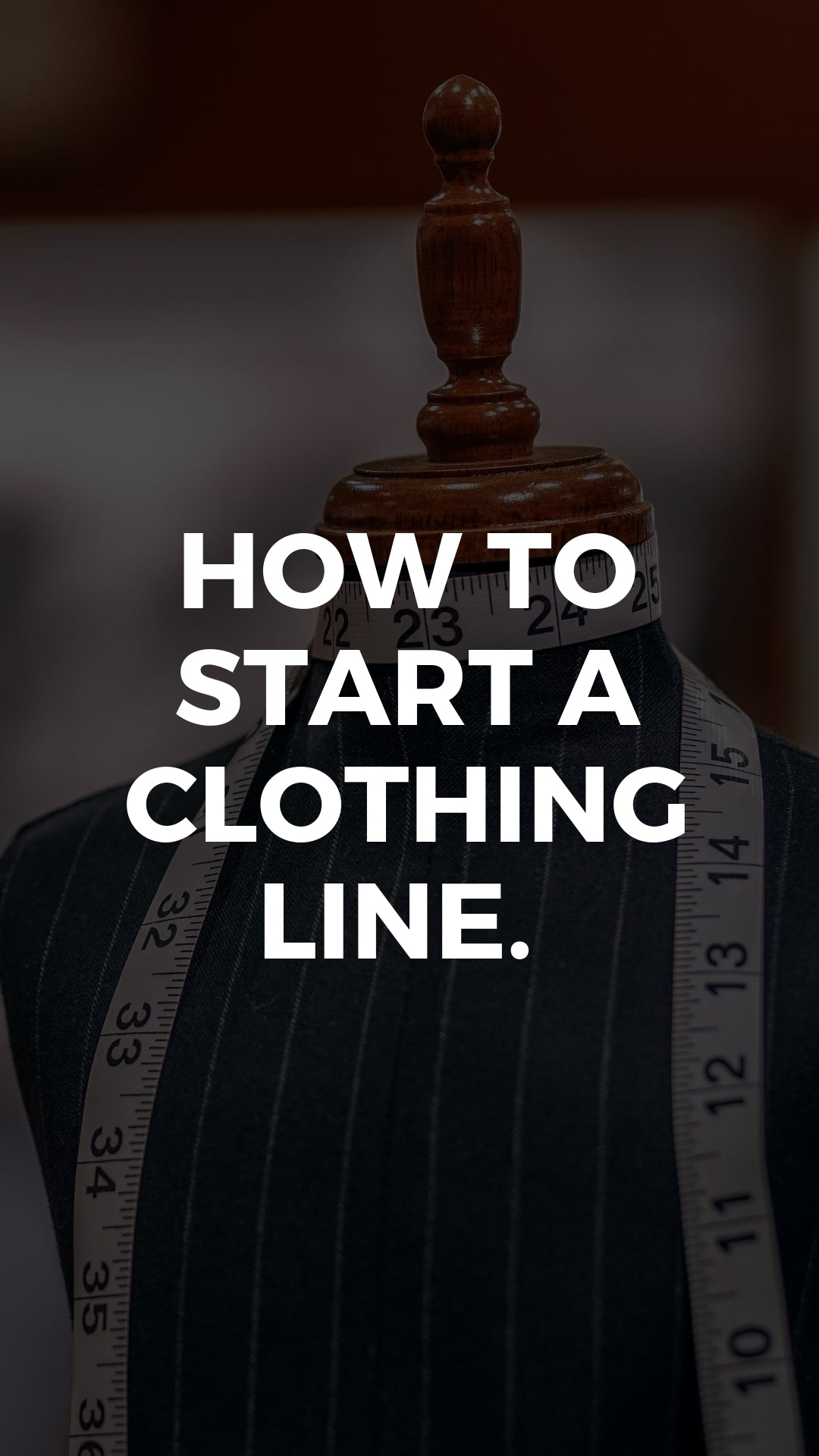 How to start a clothing line. Infographic. #clothingline #fashiondesigners