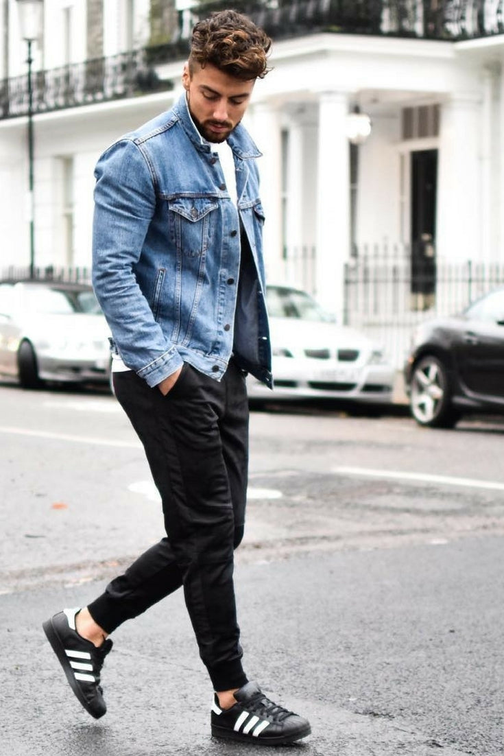 Jean Jacket Outfits For Men Denim Jacket Outfits Lifestyle By Ps