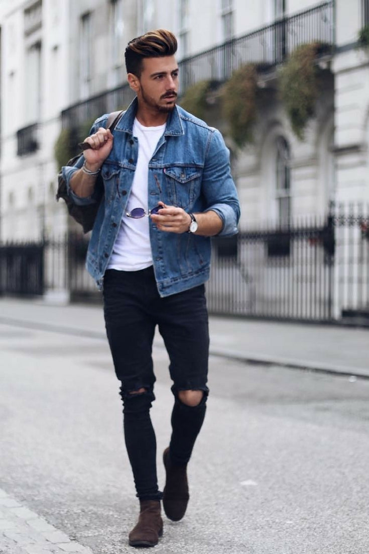 Usually, it seems an easy option to wear a denim jacket but in order to look smart, you need to work it out. Hence, if you are looking for a roadmap for how to wear a denim jacket, read our complete handbook. How to Wear Denim Jacket for Men. Reasons to wear a denim jacket.