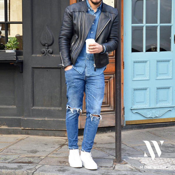 Denim on Denim Look For Men