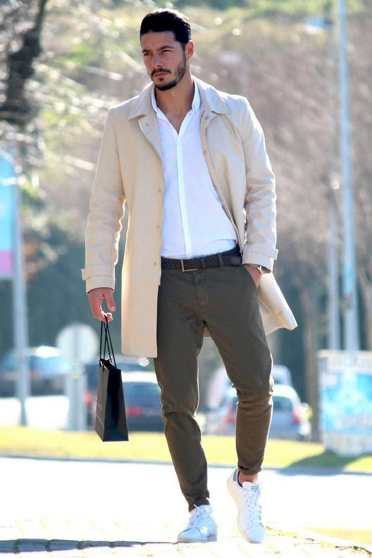 How To Wear Long Coats For Men Overcoat Outfits For Men