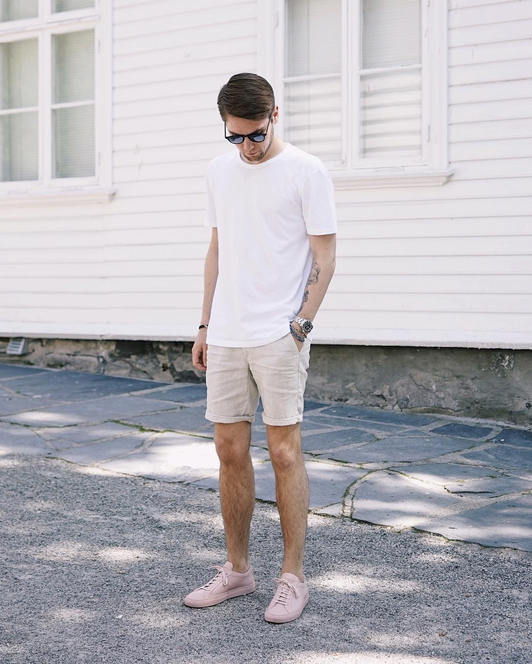 How to wear shorts for men
