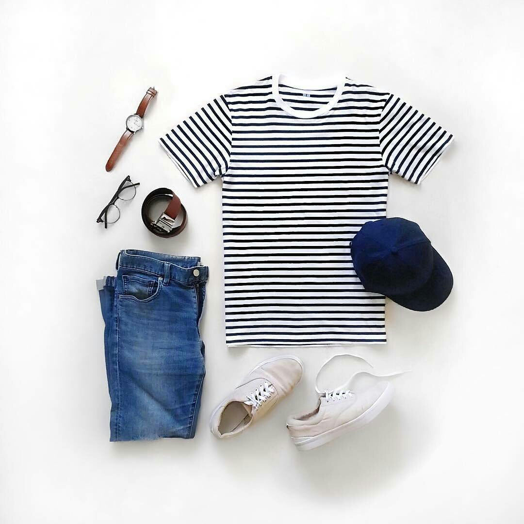Stripe T Shirt Outfits For Men Lifestyle By Ps