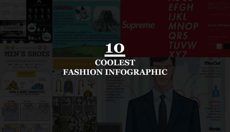 10 Best Fashion Infographic