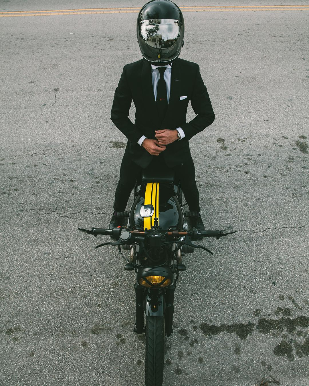 How To Ride A Bike In A Suit