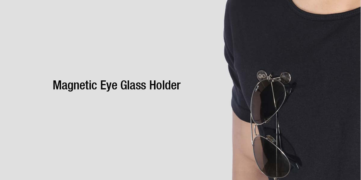 MAGNETIC EYE GLASS HOLDER