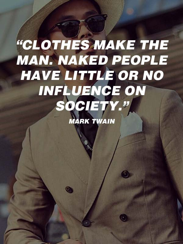 Men's Fashion Quotes