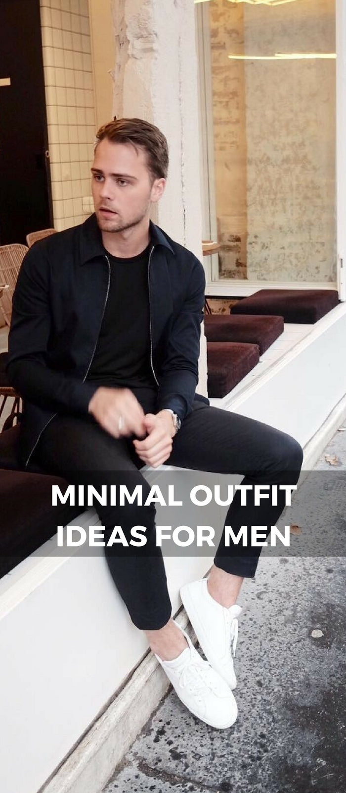 Minimal Outfit Ideas For Men