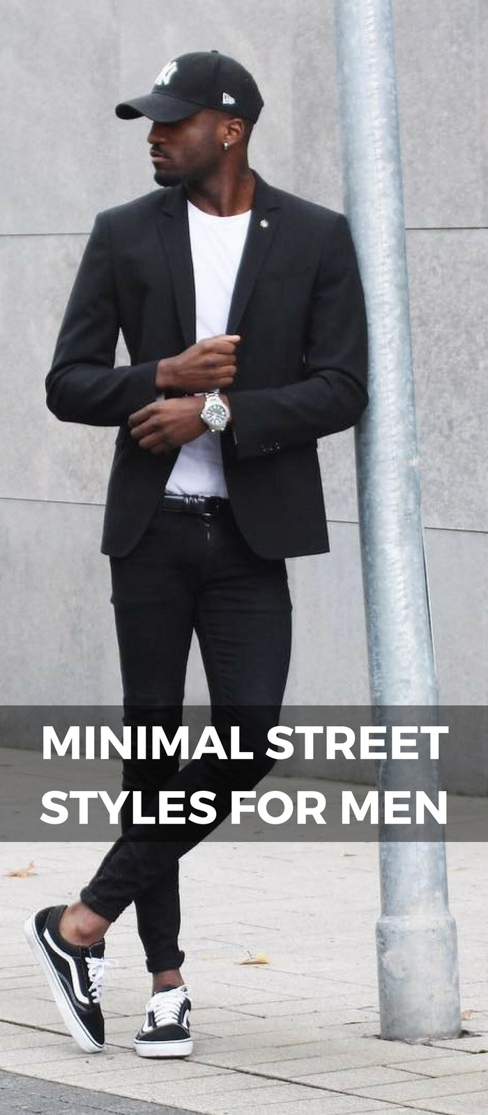 Minimal street style looks for men
