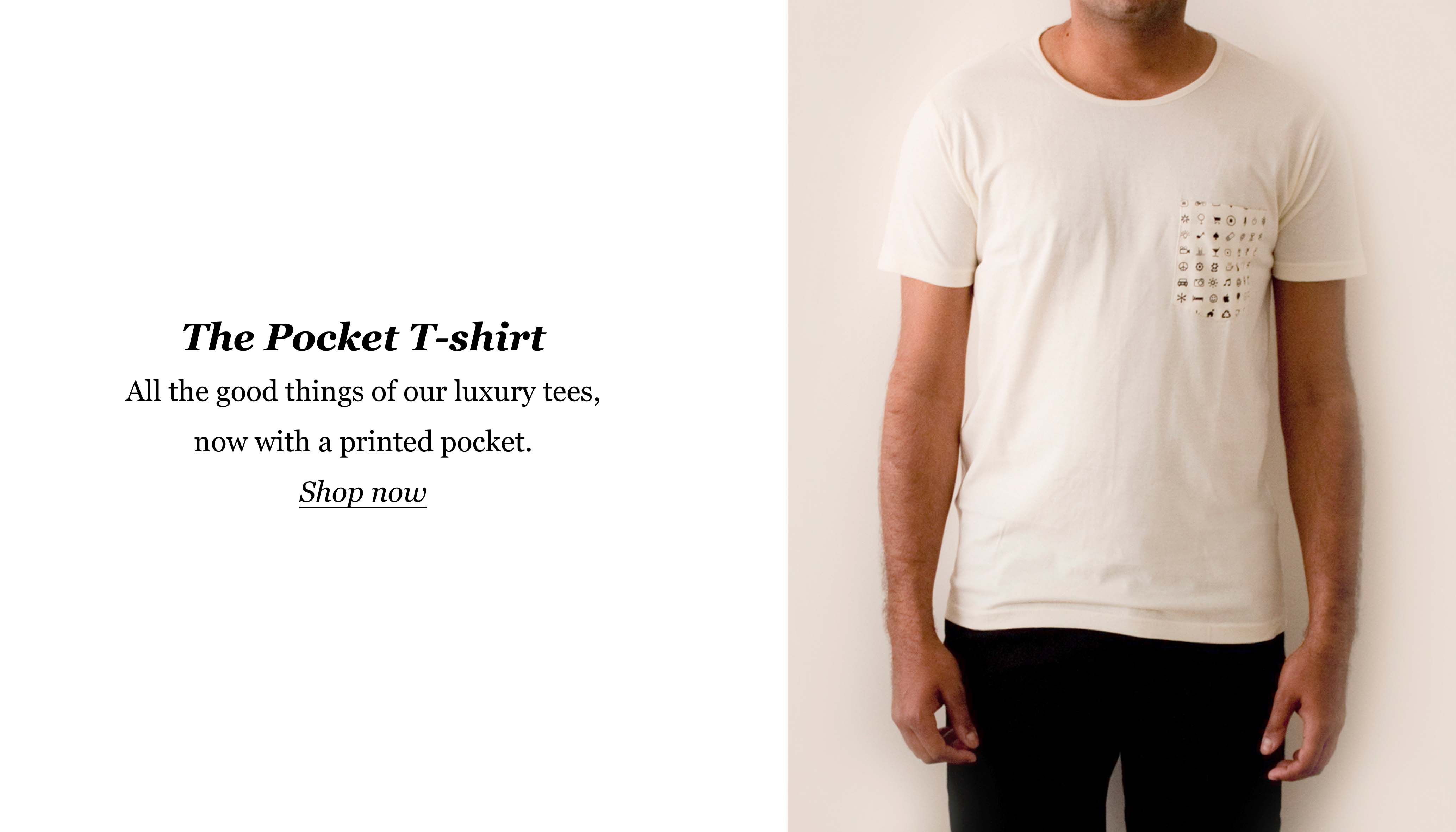 Buy Pocket T-shirt online in India