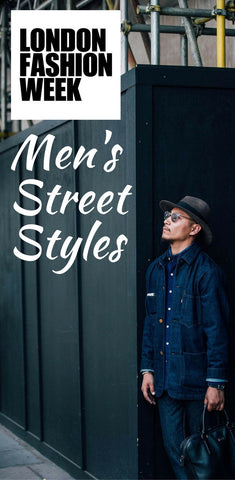 London fashion week, men's street styles